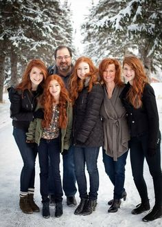 THEY'RE SO PERFECT AND RED HEADED!!!!