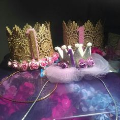 Follow and shop your favorite lace crowns @pinkys_ohh_so_cute