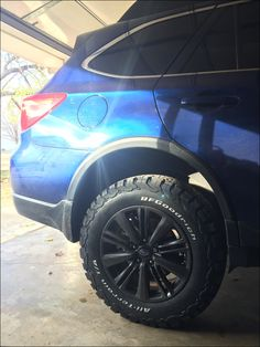 Subaru Outback Tires Recommended