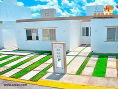 #conjuntoshabitacionales LAS MEJORES CASAS DE MÉXICO. ÉBANO es la casa que tanto ha estado buscando para vivir en Cancún, ya que además de ofrecerle las amenidades del fraccionamiento Prado Norte, cuenta con sala, comedor, cocina, 2 recámaras, 1 baño, patio de servicio y más, todo distribuido en una construcción de 53 metros cuadrados. En Grupo Sadasi, le invitamos a comprar su casa en nuestros desarrollos de Quintana Roo. rfuentesp@sadasi.com