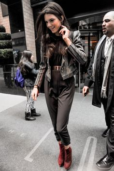 Kendall Jenner leaving her hotel The London in New York City | See the stars! | #travel #NYC #Newyorkcity | http://newyorktours.onboardtours.com