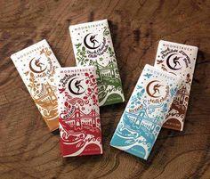 Moon Struck Chocolate Package Design