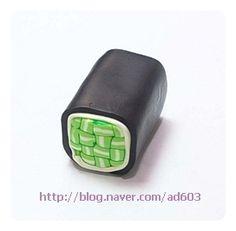 폴리머클레이 교차무늬 케인만들기 :: 네이버 블로그
