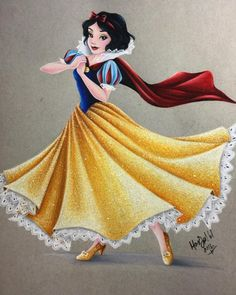There's something about Snow White that I just love coloring ❤️❤️❤️ These twirling princesses have been so much fun!! I have a few other projects I'm going to start working on tomorrow but I think Snow is a good way to end this … for now  Thank you...