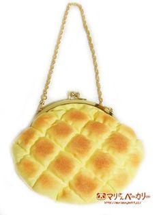 メロンパンのふかふかがまぐち by マリさんベーカリー バッグ・財布・小物 財布