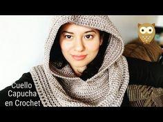 Capucha Elegante a Crochet (ganchillo) - YouTube