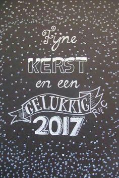 voor kerst en oud & nieuw Christmas Presents, Christmas Cards, Christmas Decorations, Xmas, Laura Lee, Chalk Pens, Chalkboard Art, Zentangle, Doodles