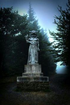 Radegast #Pustevny Europe Photos, Old City, Czech Republic, Magick, Pagan, Statue Of Liberty, Fountain, Places, Outdoor Decor