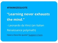 Well said- check these guys out for more wisdom and financial knowledge. Sign up! http://insider.finimize.com/?kid=e3k3h  #inspiration #wisdom #motivationalquotes #quotes #quotestoliveby #davinci
