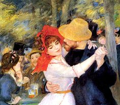 Dance At Bougival Detail Canvas Print / Canvas Art by Pierre Auguste Renoir Pierre Auguste Renoir, August Renoir, Tableaux Vivants, Renoir Paintings, Art Ancien, Canvas Art, Canvas Prints, Art For Art Sake, Claude Monet