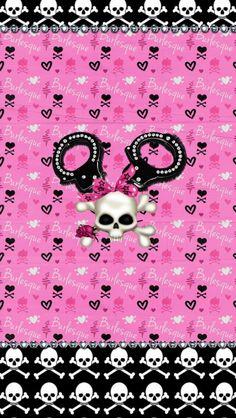 Dazzle my Droid: Freebie♡♡♡ Fierce wallpaper collection Skull Wallpaper, Cute Wallpaper For Phone, Cellphone Wallpaper, Pink Wallpaper, Flower Wallpaper, Backgrounds Girly, Cute Wallpaper Backgrounds, Pretty Wallpapers, Iphone Wallpapers