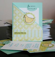 Baby Shower Invitations by Abby V - Cards and Paper Crafts at Splitcoaststampers