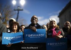 The President sets a record in Concord, New Hampshire on 11/04/12, with largest political rally in state's history.