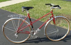 1975 Motobecane Mixte Grand Touring frame SOLD! by Sly Red, Chicago, via Flickr