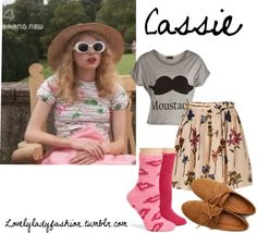 """""""Cassie Ainsworth"""" by nearlysamantha ❤ liked on Polyvore"""