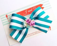 DON'T FORGET - USE CODE FREESHIP20 FOR FREE US SHIPPING ON ORDERS OF $20 OR MORE - EXPIRES THIS FRIDAY.  Baby/Girl/Childs Hair Bow Clip Spring Teal Hair by JandGhandmade, $4.99