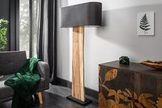 Stojanová lampa ORGANIC Organic, Led, Wood Lights, Lighting, Table, Furniture, Home Decor, Products, Environment