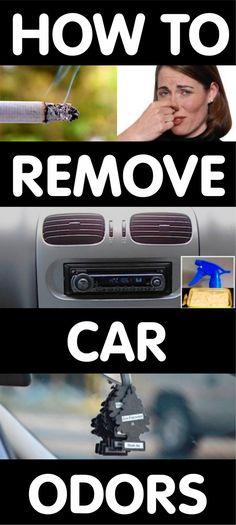 ~ How To Get The Bad Smell Out Of Car AC Vent System