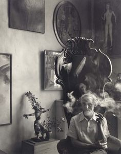 Max Ernst by Arnold Newman 1942