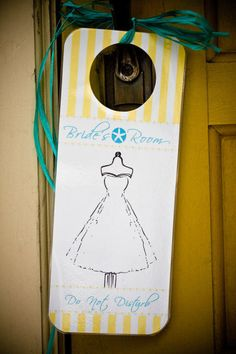 We need to get one of these for Mal for the Big Day #signs Photography by julesbianchi.com  Read more - http://www.stylemepretty.com/2011/09/12/sand-dollar-estate-wedding-by-jules-bianchi-photography/