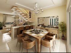 Conheça 12 Modelos para Decoração de sala de jantar que pode inspirar você na realização da decoração da sala de jantar, abuse da sua criatividade.