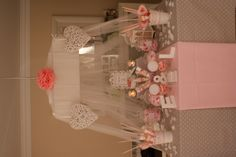 Our pink Candy bar.