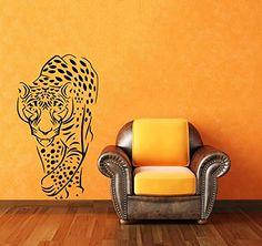 Wall Vinyl Decal Sticker Jaguar Animal Art Design Nursery Room Nice Picture Decor Hall Wall Ki428 Thumbs up decals http://www.amazon.com/dp/B00L5OO9XE/ref=cm_sw_r_pi_dp_3sm2tb1AHV0C40XA