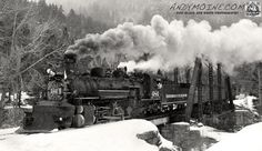 Amazing Composition of Durango & Silverton's #486 K-28 Locomotive crossing Tefft Bridge in the majestic San Joaquin Mountains in Colorado Gotta Love #Trains @adorenoir