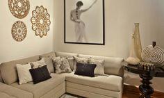 Salas: ambientes confortáveis e luxuosos - Casa - MdeMulher - Ed. Abril