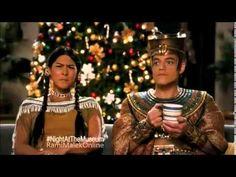 Night at the Museum: Secret of the Tomb TV Promo - Ahkmenrah, Sacajawea ...