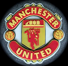 Manchester United Cake Topper! Make a fan happy this year by adding this on top of his celebration cake!