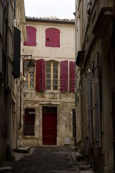 Arles, ancient old town in south of France Stock Photo - 28893059
