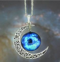 Sugar Accessories - Cosmic Moon Necklace, $9.99 (http://www.sugaraccessories.com.au/cosmic-moon-necklace/)