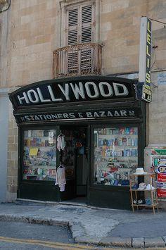 Shops' facade in Malta -- My Gran's shop ! ;)