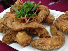 Crispy chicken wings #foodporn