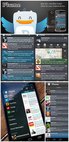 Plume is a beautiful and completely customizable Twitter app that will revolutionize the way you use Twitter! Twitter App, About Twitter, Google Co, Android 4, How Are You Feeling, Apps, Business, Beautiful, App