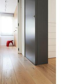 Diseño y reforma de apartamento. Madrid. Iglesias-Hamelin arquitectos c.b. Dormitorios.
