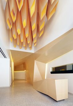 Ceiling Design in 1 Kearny, San Francisco - Herman Miller