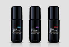 Serum packaging - Ana Popova - designer Black Packaging, Cool Packaging, Packaging Boxes, Skincare Packaging, Cosmetic Packaging, Cosmetic Bottles, Cosmetic Design, Tenerife, Package Design