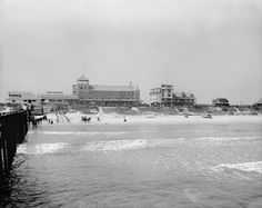 1905 The Clarendon From Main Street Pier Daytona Beach Florida