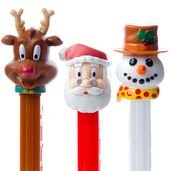 Christmas PEZ Candy Packs: 12-Piece Box