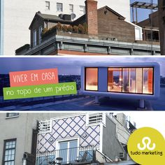 Parece um pouco contraditório, mas não é! Em Nova York, existem essas rooftop houses, casas que ficam no topo dos prédios. Você une a vista e a segurança de um apartamento com o conforto e na privacidade de uma casa, incrível né?#Curiosidades #RooftopHouses #NewYork #Arquitetura #Predios #TudoMKT #TudoMarketing