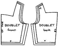 landsknecht doublet pattern - Sök på Google