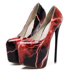 Designer super star party red pumps shoes for women fashion platform women shoes high heel pumps Nightclub sexy high heels Platform High Heels, High Heel Boots, High Heel Pumps, Pumps Heels, Stiletto Heels, Shoe Boots, Shoes Sandals, Red Pump Shoes, Red Pumps