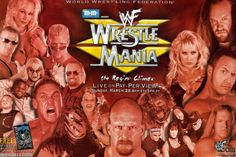 Stone Cold vs. THe Rock! Undertaker vs Big Bossman in Hell in a Cell! The RETURN OF BRAWL FOR ALL! It's all things WrestleMania XV on today's Something to Wrestle with Bruce Prichard! Undertaker Wwf, Stone Cold Steve, Steve Austin, On Today, The Rock, Wwe, Wrestling, Movie Posters, Street