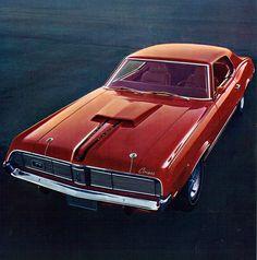 1969 Mercury Cougar Hardtop CJ428 by coconv, via Flickr
