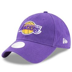 d328bcefac6f3 Women s New Era Purple Los Angeles Lakers Preferred Pick 9TWENTY Adjustable  Hat. La LakersLakers HatNba ...