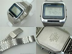 1980s Vintage Rare Classic Casio CFX-200 Scientific Calculator Digital LCD Watch For Sale | Antiques.com | Classifieds