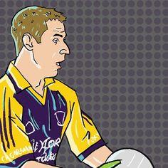 Digital Illustration, Ireland, Digital Art, Doodles, Sketch, Football, Graphic Design, Yellow, Instagram