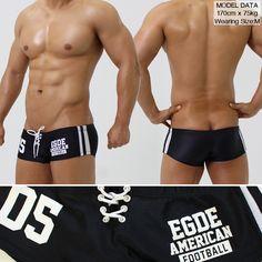 【楽天市場】EGDE← AMERICAN FOOTBALL 編み上げ スーパーローライズ ボクサーパンツ Black:EGDE